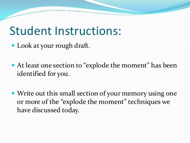 narrative assay Get narrative story writing help for every grade and learn how to write a narrative essay step by step.