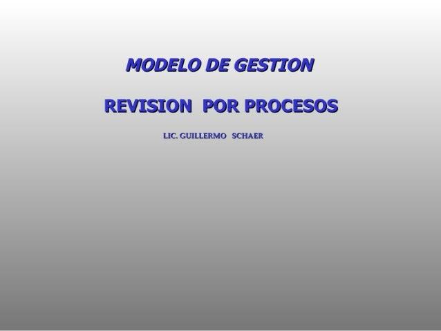MODELO DE G51710?!   REVISION POR PROCESOS  LEGUILLBRMOÉÍAII