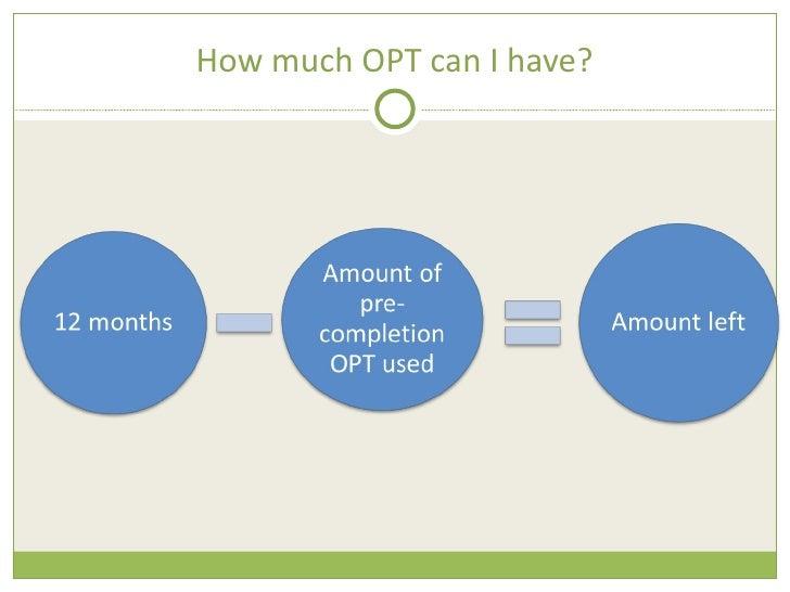 Opt Training