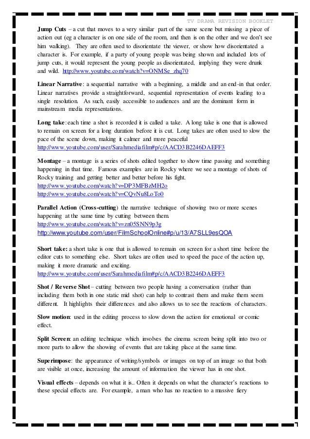 OCR AS MEDIA Revision booklet