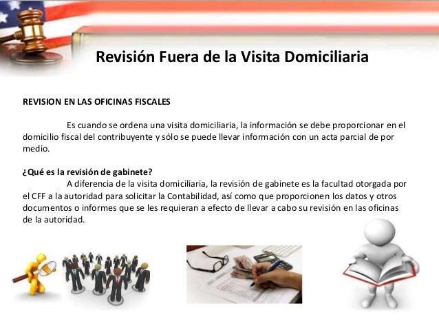 Revisión Fuera de la Visita Domiciliaria Como Conclusión La compulsa a terceros, que puede realizarse a través de una visi...