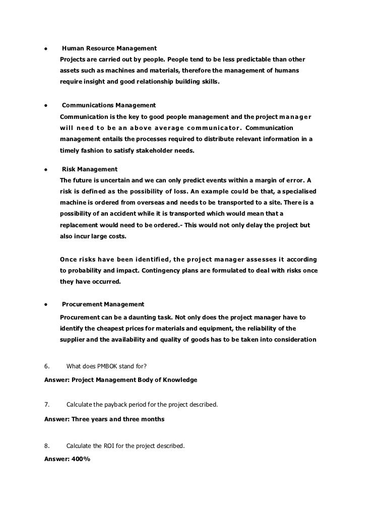 Revision exercise memorandum – Project Memo Template