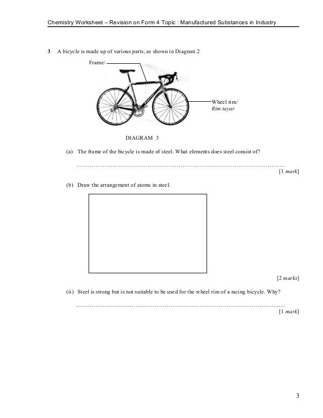 Revision Form 4 Topic Manufactured Substances In Industry