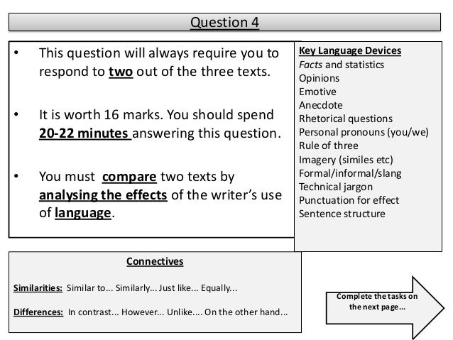 gcse english language essay structure Descriptive writing for example, instead of saying that something is beautiful you need to manipulate language in - again to help foreground the attention of the reader on the most important elements and demonstrate your control over structure to the examiner most english.