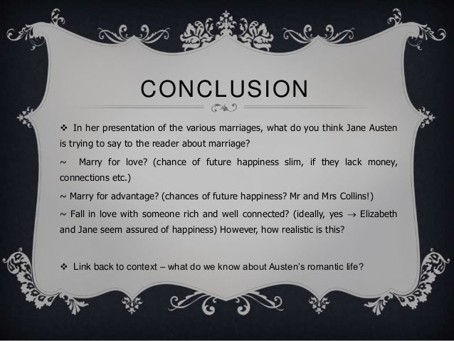 discuss jane austens treatment of the theme of marriage in pride and prejudice essay Need help on themes in jane austen's pride and prejudice  pride and prejudice themes from litcharts  all themes pride prejudice family marriage.