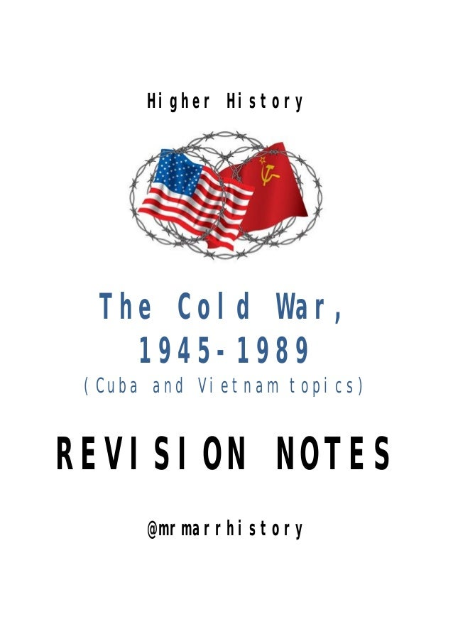 cold war topics for projects