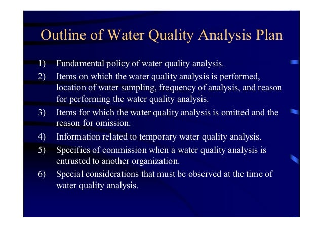 drinking water quality standards pdf