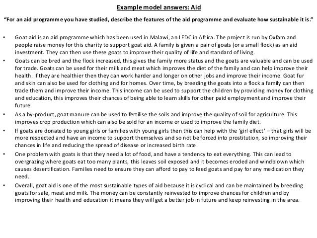 Revision pack 2014 - GCSE Geography OCR B