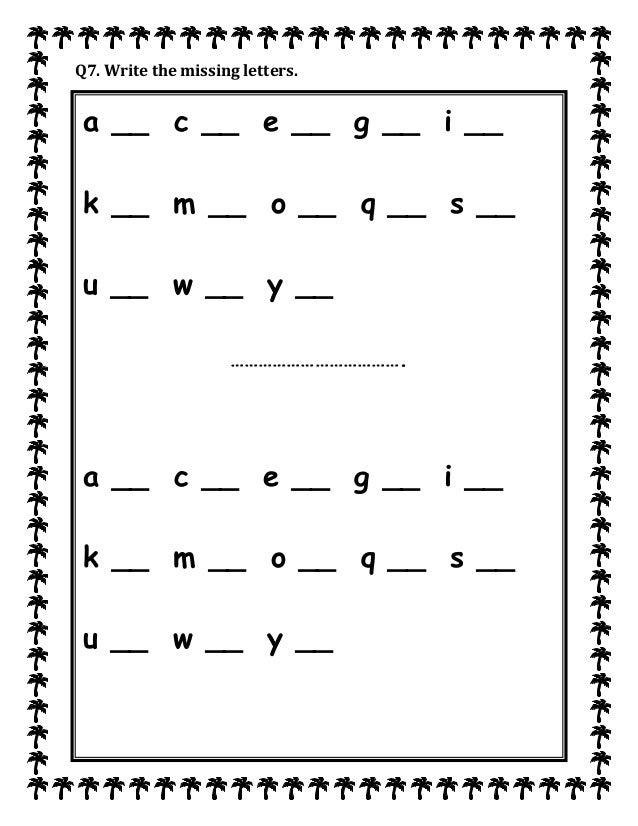 Maths Worksheets Kindergarten Missing Letters Write The Missing Letter Worksheet Missing Letters Worksheets Pdf Write The Missing Letters Of The Alphabet Worksheets on Images About Free Halloween Worksheets On Pinterest Math For