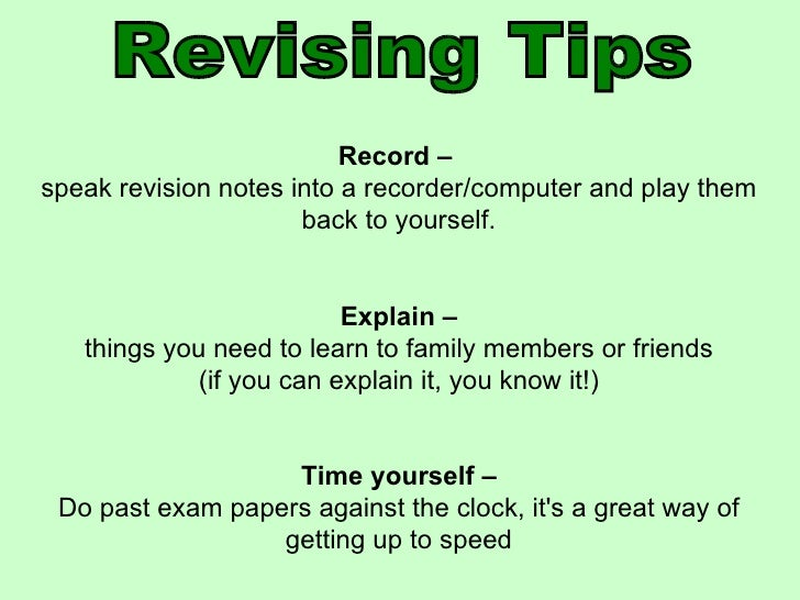 revising strategies for essays Think literacy : cross-curricular approaches, grades 7-12 writing strategies revise www introduction to writing strategies generating ideas: rapid writing.