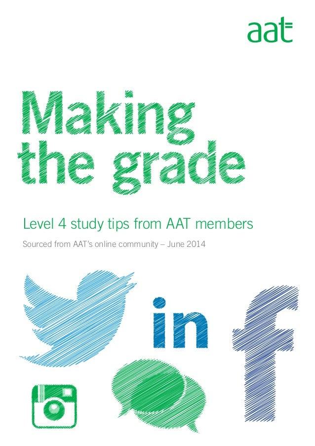 aat level 4 icas case study