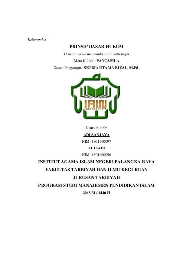 Sebutkan Dasar Hukum Bahwa Bangsa Indonesia Menganut ...