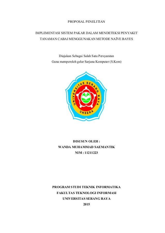 Jadwal Penelitian Proposal Skripsi Teknik Informatika Kumpulan Berbagai Skripsi