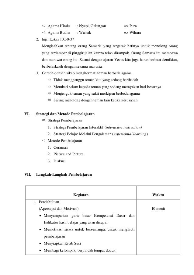 Rpp K13 Agama Hindu Sd Guru Ilmu Sosial