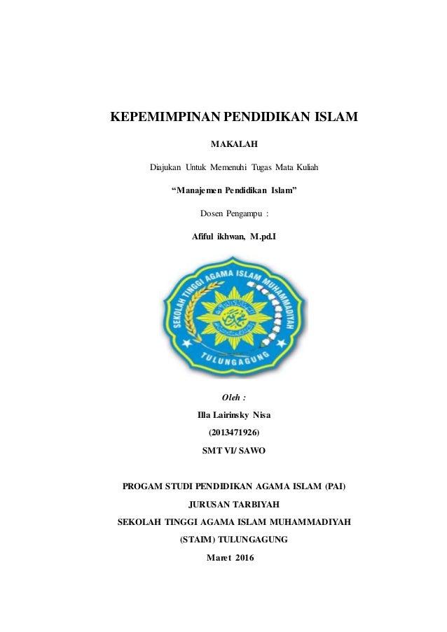 Kepemimpinan Pendidikan Islam