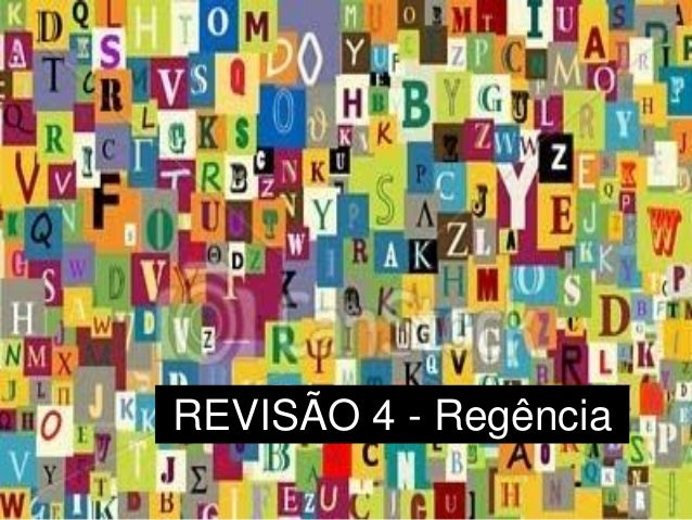 REVISÃO 4 - Regência
