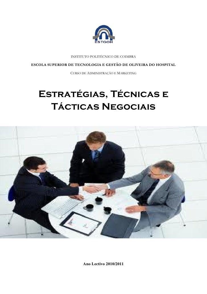 INSTITUTO POLITÉCNICO DE COIMBRAESCOLA SUPERIOR DE TECNOLOGIA E GESTÃO DE OLIVEIRA DO HOSPITAL                CURSO DE ADM...