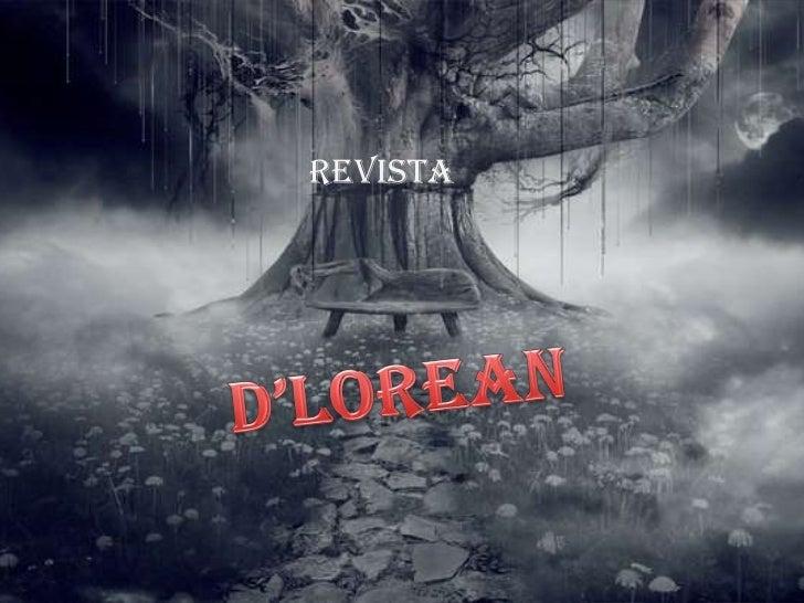 revista<br />D'Lorean<br />