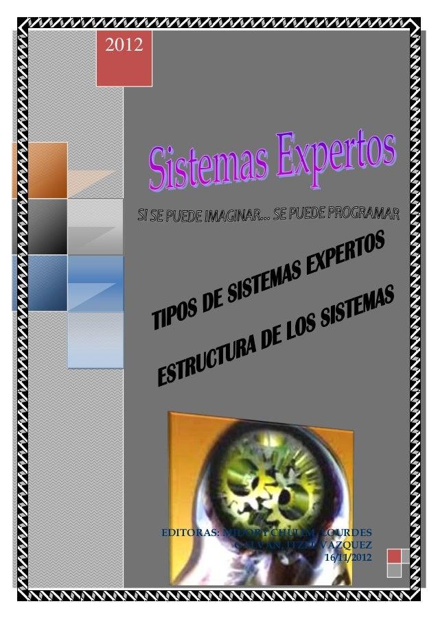 el     2012            EDITORAS: MIDORY CHULIM, LOURDES                       GALVAN, ITZEL VAZQUEZ                       ...