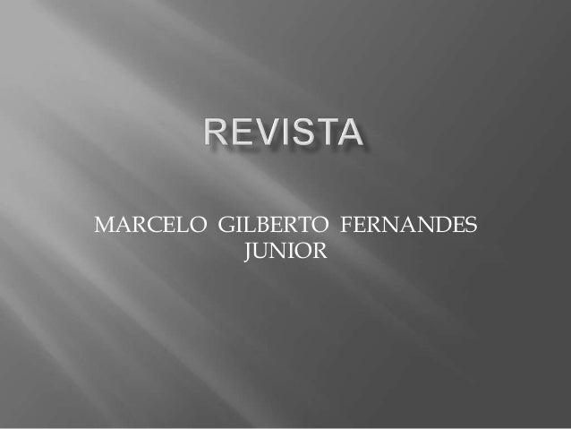 MARCELO GILBERTO FERNANDES          JUNIOR