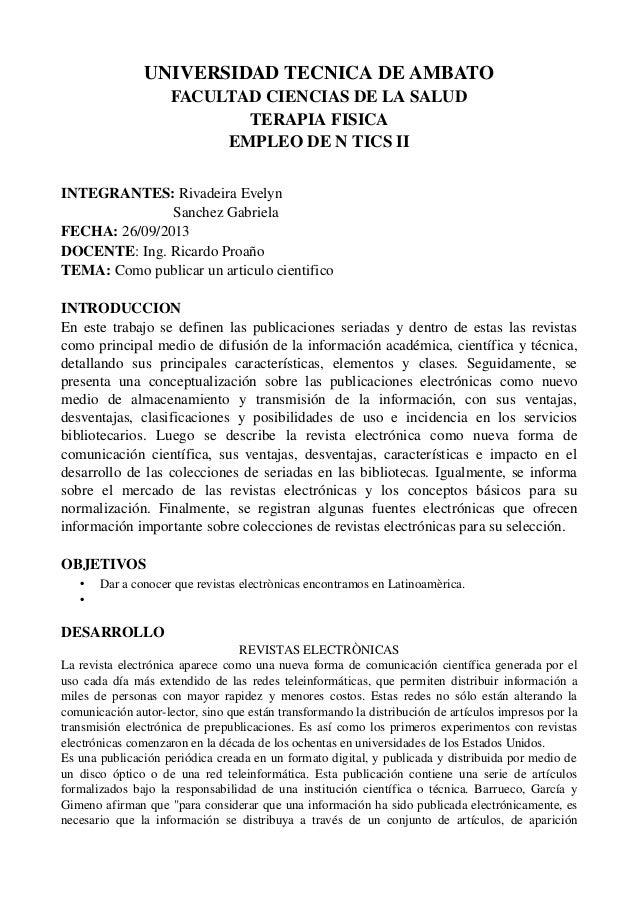 UNIVERSIDADTECNICADEAMBATO FACULTADCIENCIASDELASALUD TERAPIAFISICA EMPLEODENTICSII INTEGRANTES:RivadeiraEvel...