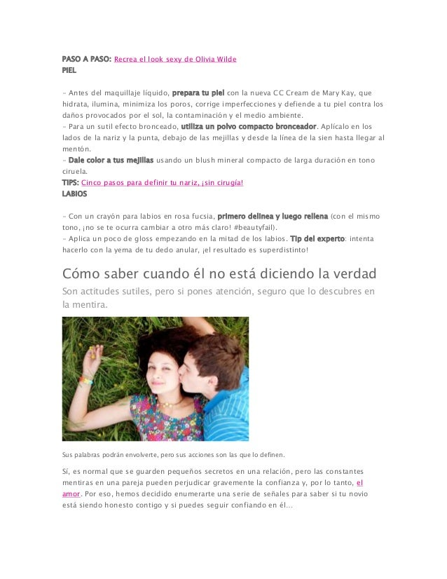 PASO A PASO: Recrea el look sexy de Olivia Wilde PIEL - Antes del maquillaje líquido, prepara tu piel con la nueva CC Crea...