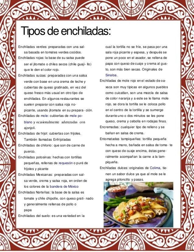 Revista sustentabilidad y gastronomia for Tipos de encielados