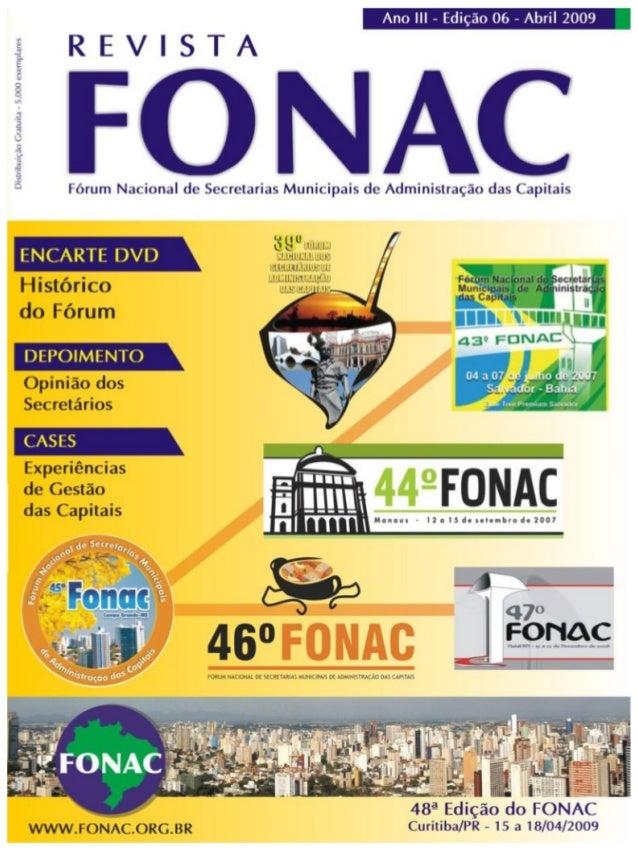 Revista FONAC - abril 2009