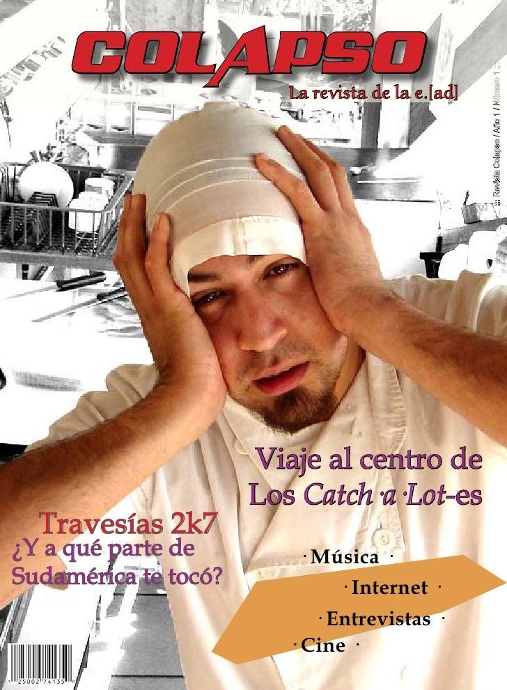 COLAPSO                                                        ::: Revista Colapso / Año 1 / Número 1 :::                 ...
