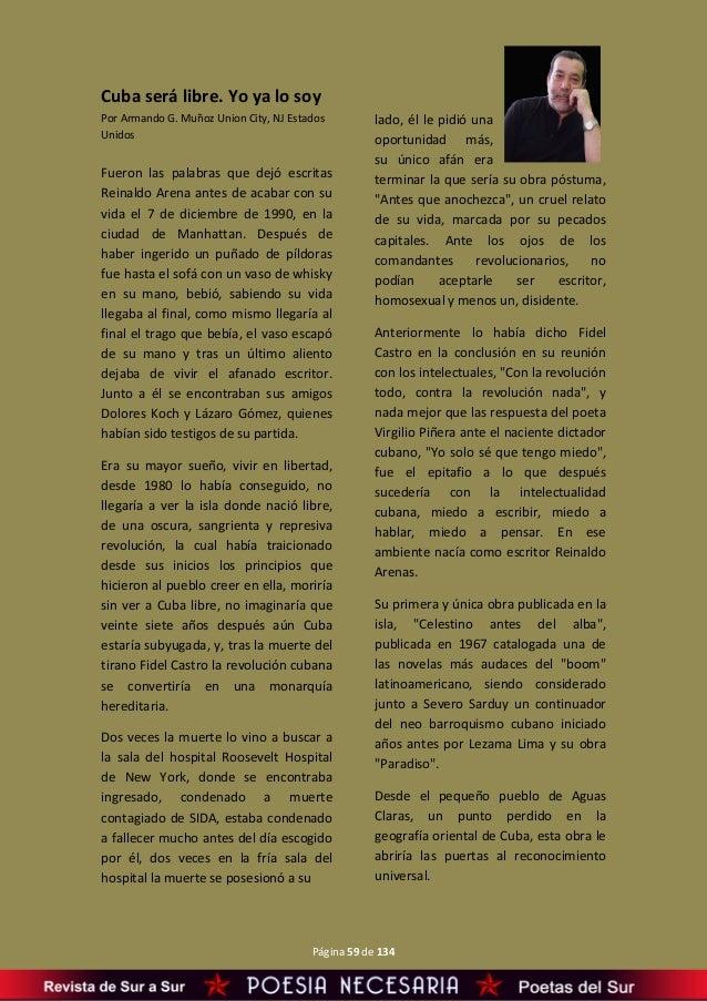 De Sur a Sur Revista de Poesía y Artes Literarias Año II- Nº 003 Ener…