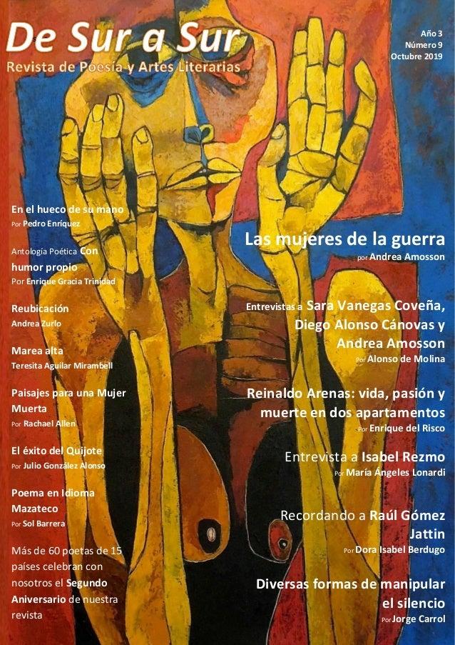 soles Año 3 Número 9 Octubre 2019 Las mujeres de la guerra por Andrea Amosson Entrevistas a Sara Vanegas Coveña, Diego Alo...