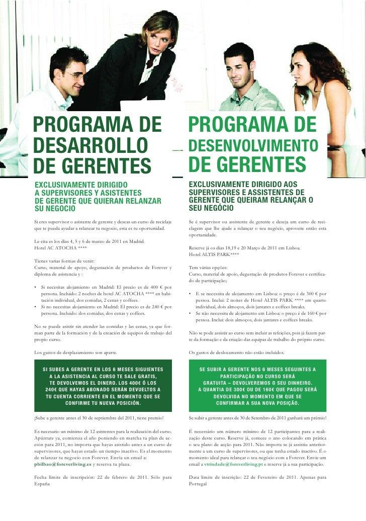 Revista Forever España Portugal Ene. 2011 n3