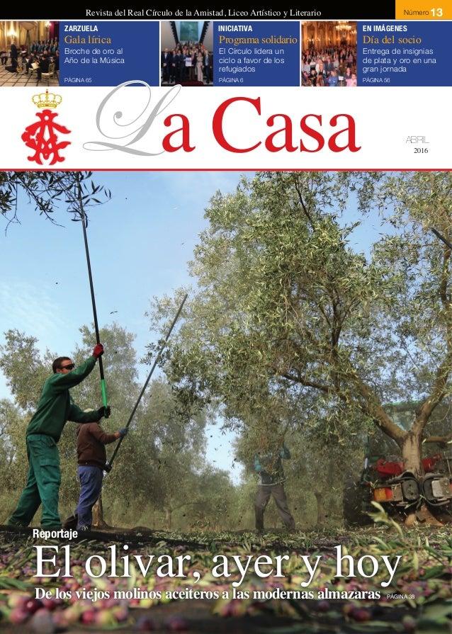 Revista la casa del real c rculo de la amistad c rdoba n 13 for La casa del retal