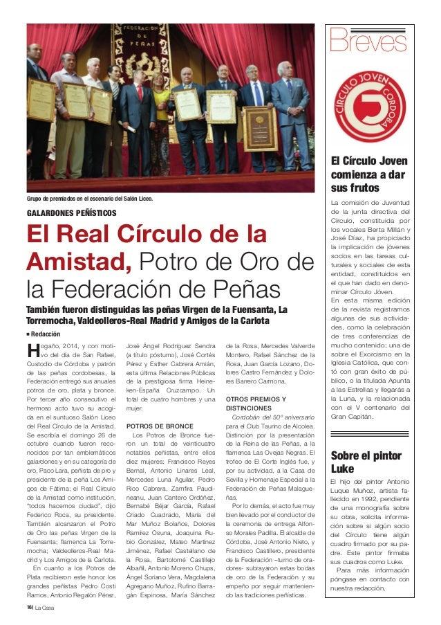 Revista la casa del real c rculo de la amistad c rdoba n 11 for La casa del retal
