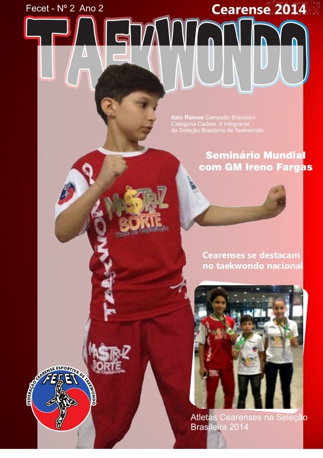 Cearenses se destacam no taekwondo nacional