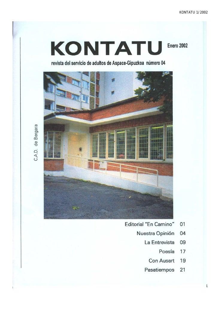KONTATU 1/2002             Pág. 1