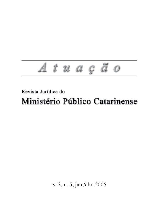 v. 3, n. 5, jan./abr. 2005