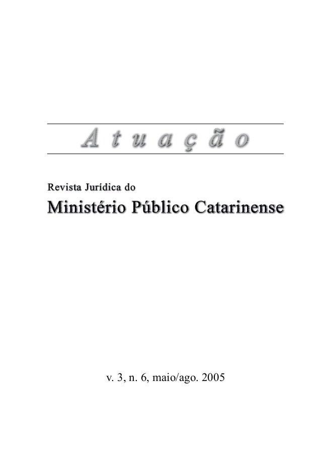 v. 3, n. 6, maio/ago. 2005