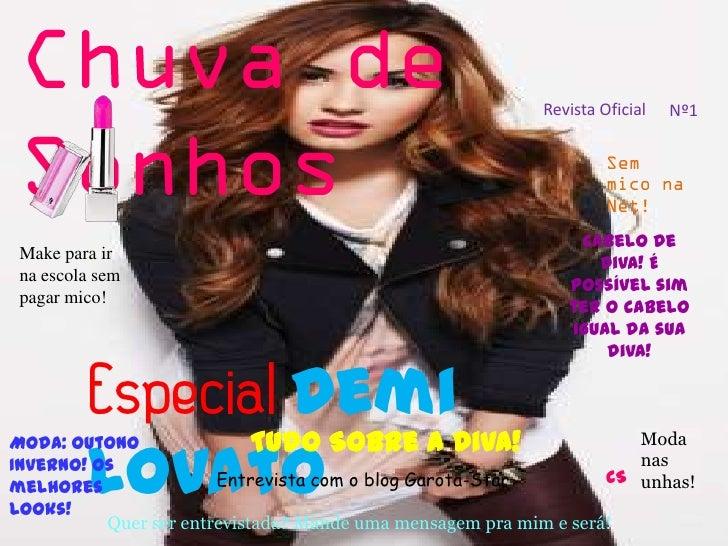 Revista Oficial   Nº1                                                              Cabelo de Make para ir                 ...
