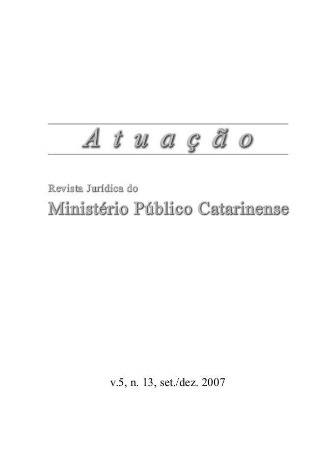 v.5, n. 13, set./dez. 2007