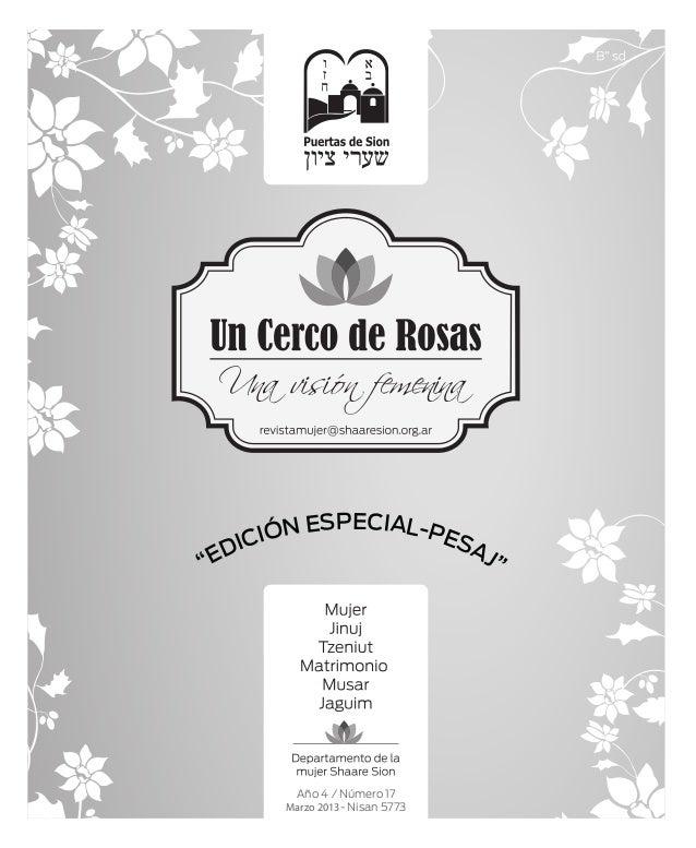 """Año 4 / Número 17Marzo 2013- Nisan 5773""""EDICIÓN ESPECIAL-PESAJ"""""""
