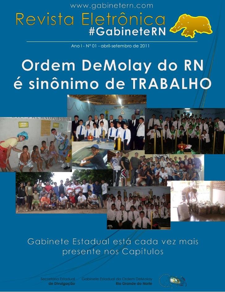 Ano I - Nº 01 - abril-setembro de 2011