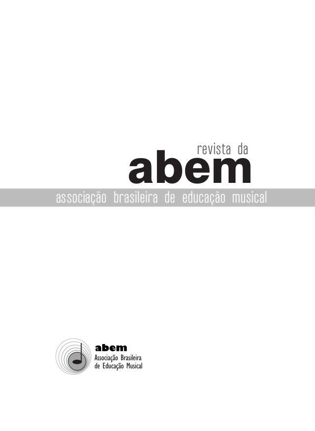 abem revista da associação brasileira de educação musical