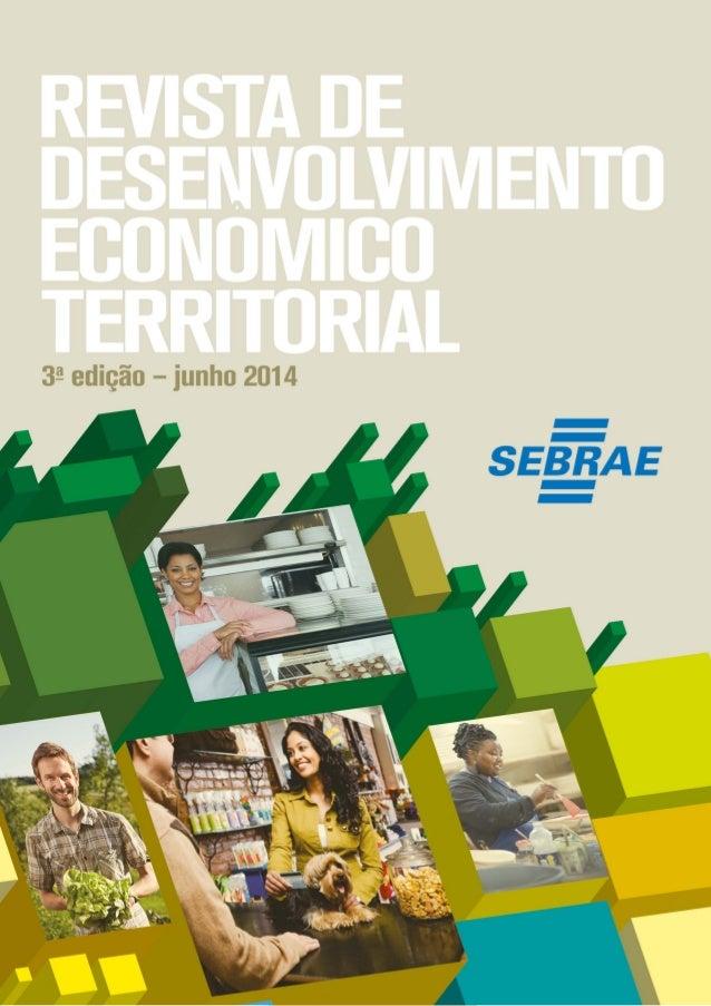 A Revista de Desenvolvimento Econômico Territorial tem por finalidade publicar artigos sobre desenvolvimento econômico loc...