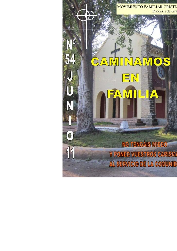 MOVIMIENTO FAMILIAR CRISTIANO              Diócesis de Granada