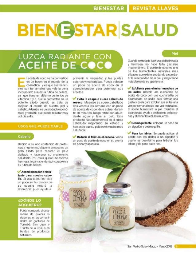 La aplicación del aceite de coco para los cabellos antes y después