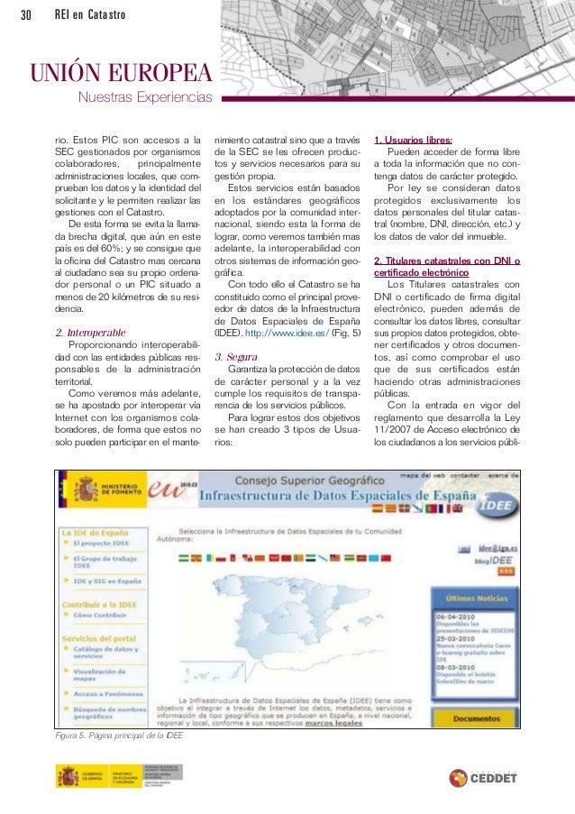 Revista de expertos en catastro for Oficina virtual del catastro