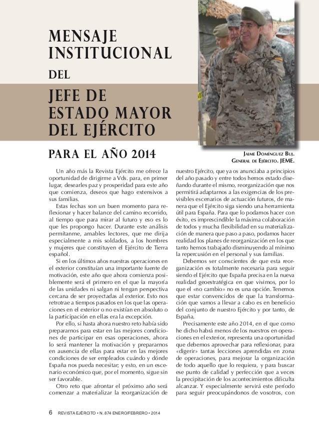 Revista Ejército nº 874 Enero febrero 2014. de8cb2052d1
