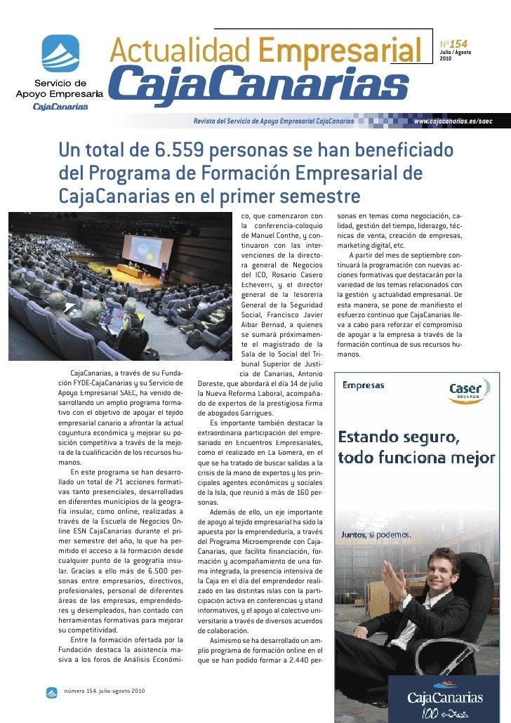 Actualidad Empresarial                                                                                      Nº154         ...