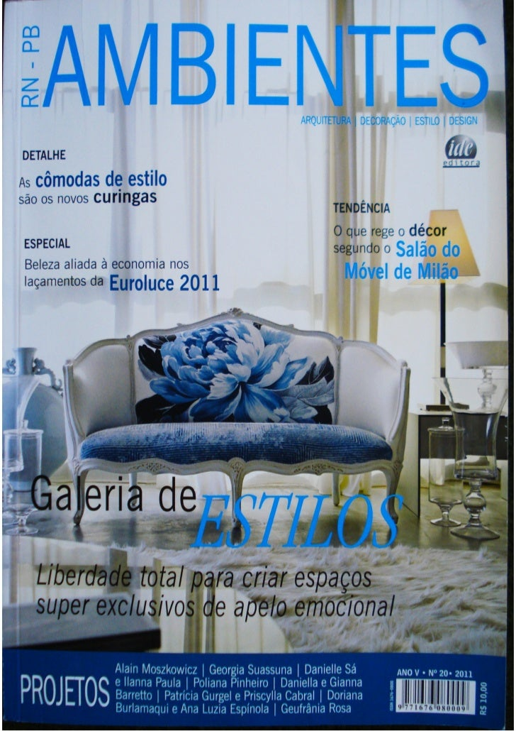 """interiores        por Geufrânia Rosa (RN)  """"Um apartamento  interessante  que reflete o  jeito de morar  do casal através ..."""